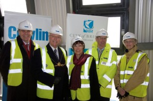 city_of_bristol_college_topping_out
