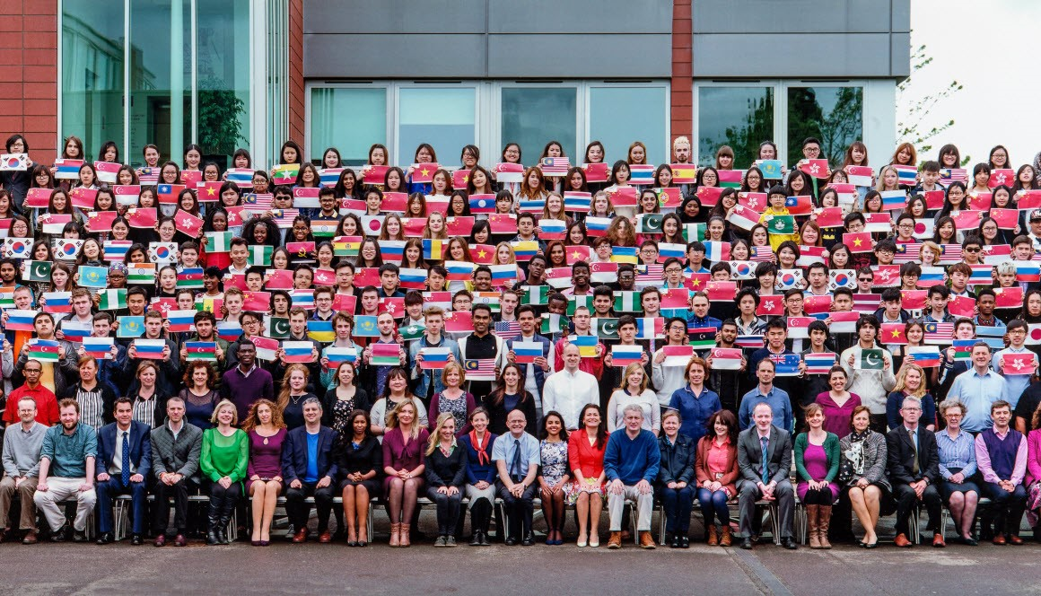 Sinh viên từ hơn 70 quốc gia theo học tại Bellerbys