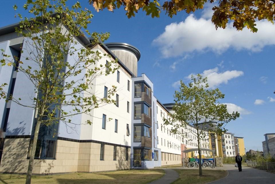 INTO UEA nằm ngay trong khuôn viên của UEA tại Norwich