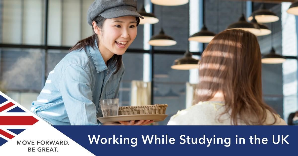 Sinh viên quốc tế được phép làm thêm trong khi du học tại Anh. Nguồn: SI-UK